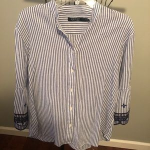 Ralph Lauren shirt with bell sleeves
